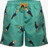 Osaga jongens zwemshort met toekan print - Groen - Maat 164