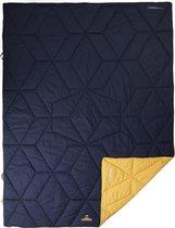 NOMAD Aztec deken - 180 x 135 - Donkerblauw