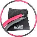 Dabé Hoelahoep - Hoelahoep fitness - Hoepel fitness volwassenen -  Hoelahoep volwassenen - Fitness Hoelahoep - Hoelahoep met gewicht  - Hoepel - Hula hoop fitness - Weight hoop