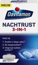 Davitamon Nachtrust 3-in-1 – Voedingssupplement – 20 nachtrust tabletten