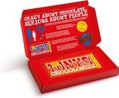 Tony's Chocolonely Cadeaudoos - Melk Karamel Zeezout Chocolade Reep