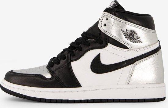 Nike Air Jordan 1 High OG, CD0461 001, Black/Black Metallic-Silver, EUR 39