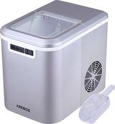 AREBOS Ijsblokjesmachine 2,2L Icemaker Ijsmachine 12KG in 24 uur