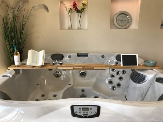 Jacuzzi badplank - Zwembaden & Accessoires - Spa's - Hot Tub - bubbelbad - Whirlpool