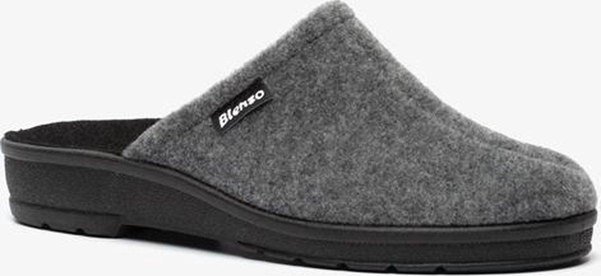 Blenzo dames pantoffels - Grijs - Maat 39