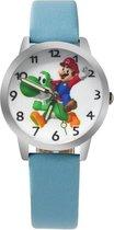 Super Mario horloge met glow in the dark wijzers