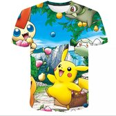 Pokemon T-shirt Pikachu _ maat 140