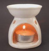 Aromabrander, Oliebrander - Aromalamp, Olieverdamper voor Etherische Olie en Essentiële Olie, Geurzout en Wax Melts - 7cmx7cmx7cm