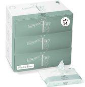 Bol.com-Naïf natuurlijke plastic vrije Billendoekjes - voordeelverpakking 24 stuks - 24 x 54 doekjes-aanbieding