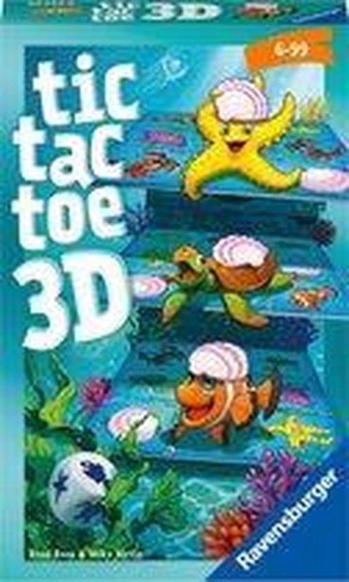 Afbeelding van het spel Ravensburger Tic Tac Toe 3D - Pocketspel