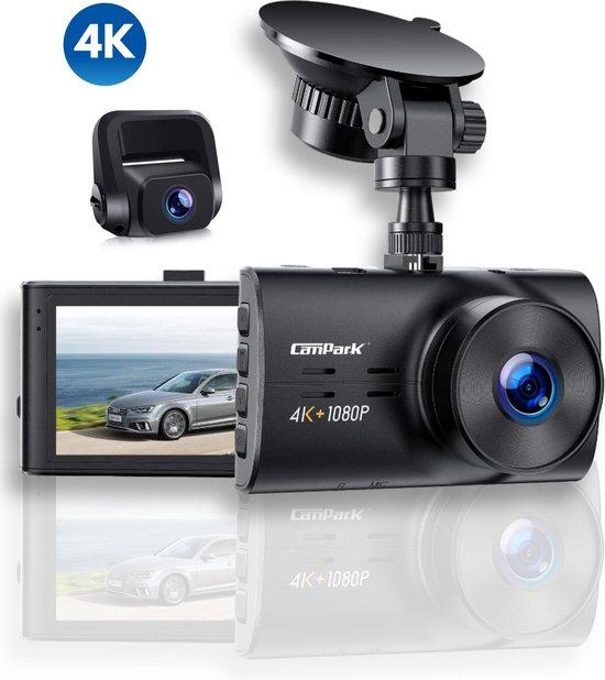 Campark® - 4K Ultra HD Dashcam
