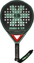 Osaka Vision Padel Racket Precision Fr - Black/jade/red - Padel - Padel - Rackets