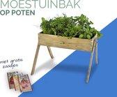 moestuinbak op poten + gratis zaadjes | kweekbak tafel kweekhuis