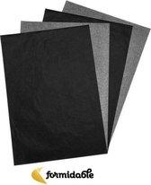 10x Carbonpapier - Carbon Papier - 10 stuks - overtrekpapier - Hobbypapier - tekenen - kunst - 10x -