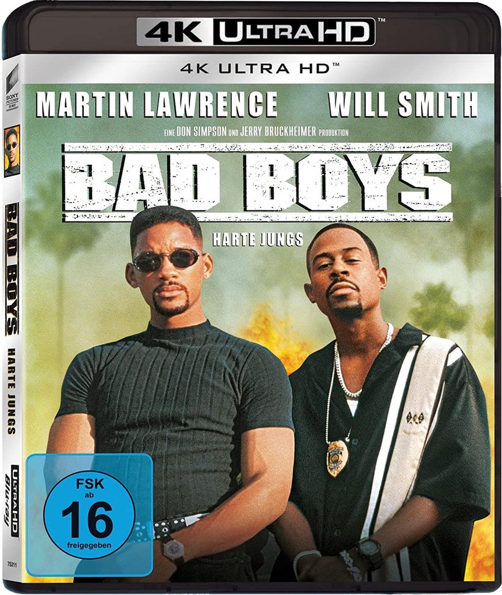 Bad Boys - Harte Jungs (Ultra HD Blu-ray)-
