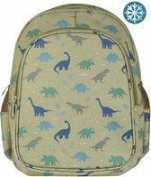 Rugzak / kinderrugtas met geïsoleerd voorvak: Dinosaurussen | A Little Lovely Company