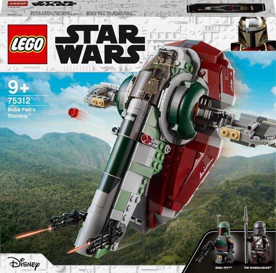 LEGO Star Wars Boba Fett's Sterrenschip - 75312