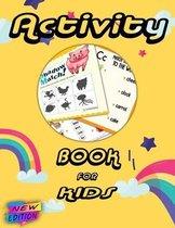 Preschool Activity Book For Kids