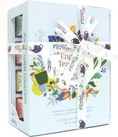Biologisch Theegeschenk – Welness Tea collectie - Thee cadeau - Thee geschenkset - Cadeaupakket - 12 piramidezakjes – 6 verschillende theesmaken