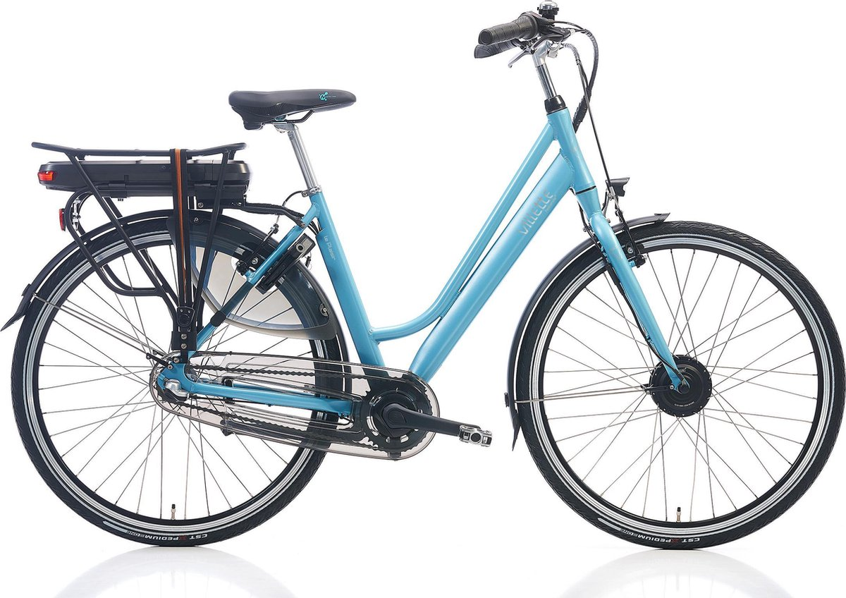 Villette le Plaisir elektrische fiets - aquablauw - Framemaat 54 cm