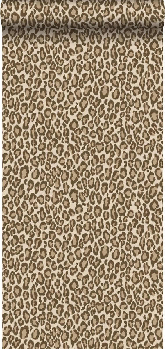 ESTAhome behangpapier panterprint bruin - 139152 - 0.53 x 10.05 m