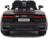 "Audi R8 Kinderauto - Accuauto - Elektrische auto ""Audi R8"" - Licentie - 12V7AH Oplaadbare batterij en 2 motoren 2.4 Ghz + MP3 + leer + EVA"