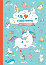 Vriendenboek  -   Vriendenboek Ik hou van eenhoorns