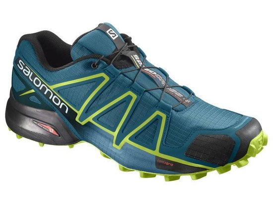 bol.com | Salomon Speedcross 4 Trailrunschoen Groen 42 2/3