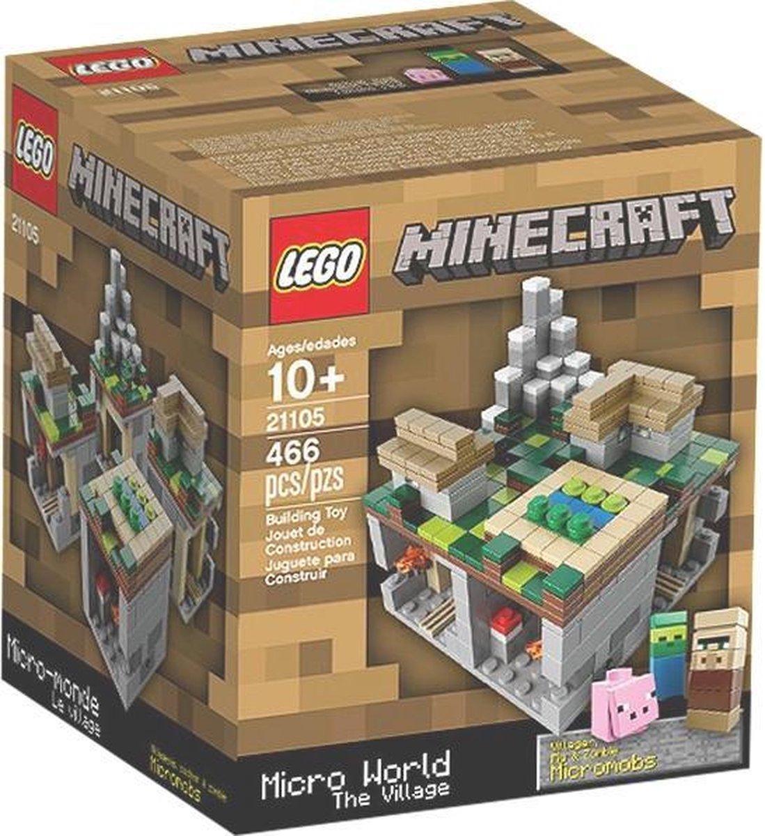 LEGO Minecraft Micro World The Village - 21105