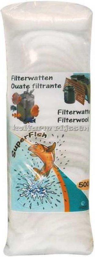 Super fish Witte filterwatten 500gr