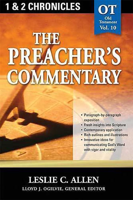 Boek cover The Preachers Commentary - Vol. 10 van Leslie C. Allen (Paperback)