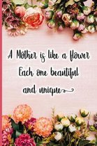 A Mother Is Like a Flower Each One Beautiful and Unique