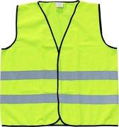 Veiligheidshesje - Reflecterend - Fluo geel – 4 tot 6 jaar
