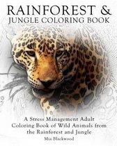 Rainforest & Jungle Coloring Book
