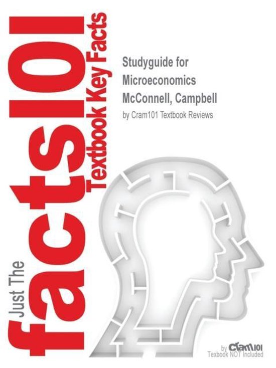 Boek cover Studyguide for Microeconomics by McConnell, Campbell, ISBN 9781259358326 van Cram101 Textbook Reviews (Paperback)