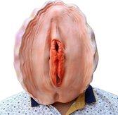 Oester masker - Grappig fout schelpen Halloweenmasker