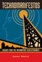 Boek cover Technomanifestos van Adam Brate