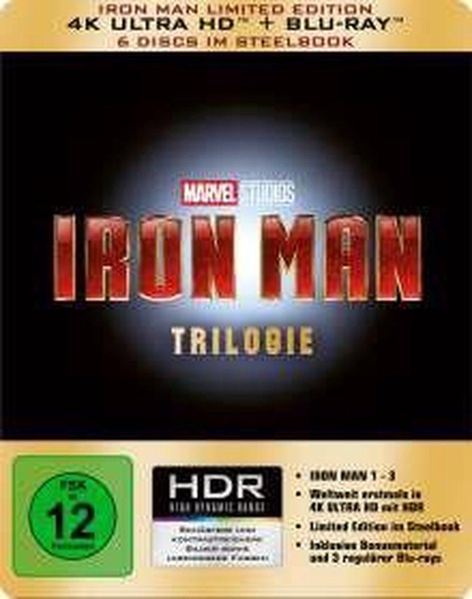 Iron Man Trilogie (Ultra HD Blu-ray & Blu-ray im Steelbook)-