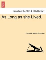 As Long as She Lived.