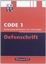 Boek cover Code 1 Oefenschrift van T. Boers (Paperback)