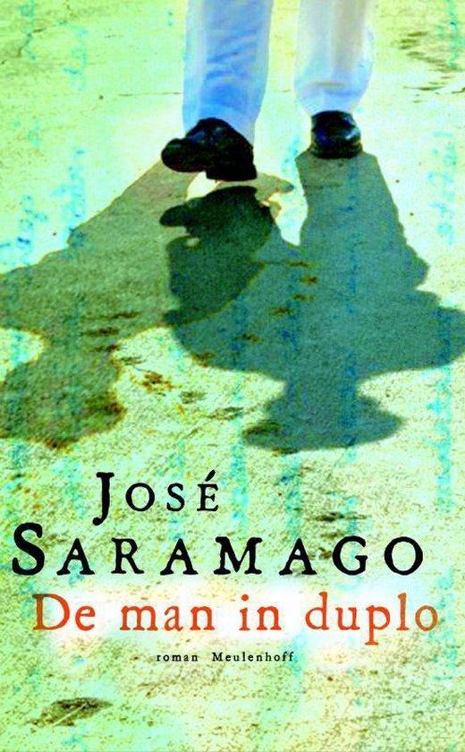 Cover van het boek 'De man in duplo' van José Saramago