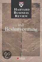 Harvard Business Review Besluitvorming