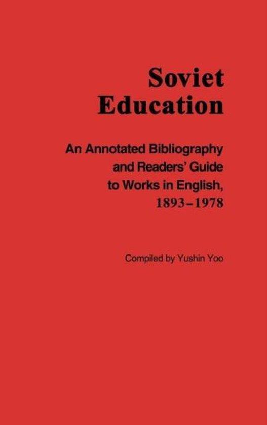 Soviet Education