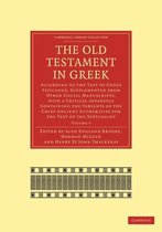 Boek cover The The Old Testament in Greek 4 Volume Paperback Set The Old Testament in Greek van Brooke, Alan England