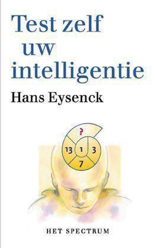 Boek cover Test zelf uw intelligentie van H.J. Eysenck (Paperback)