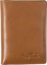 Tony Perotti Furbo Pure Mini RFID portemonnee met papier- en kleingeldvak - Honing