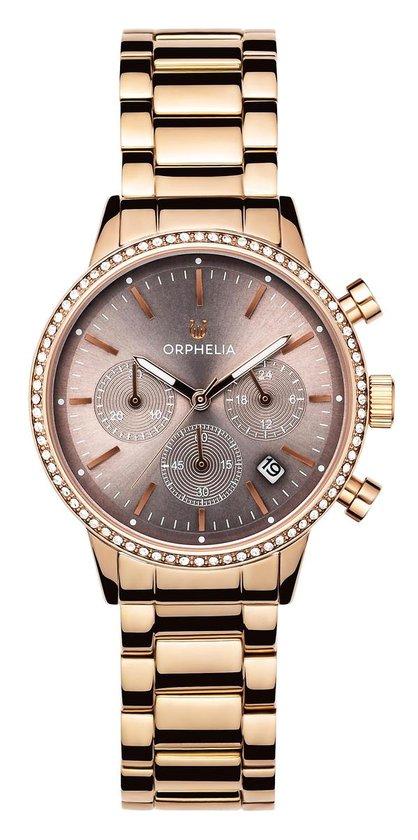 Orphelia Sunray OR32805 Horloge – Staal – Rosékleurig – Ø 38 mm