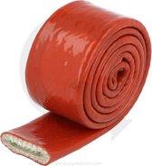 Hittebestendige hoes 15 mm rood
