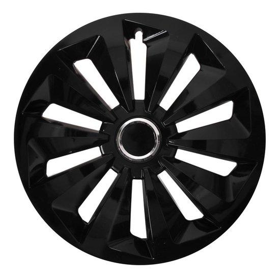 Wieldopset Fox zwart 15 inch 4 stuks in displaydoos