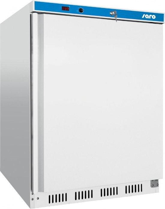 Koelkast: SARO koelkast met Ventilator-Koeling | 78 Liter | Staal | H 850x B 600 x D 600 mm, van het merk Saro